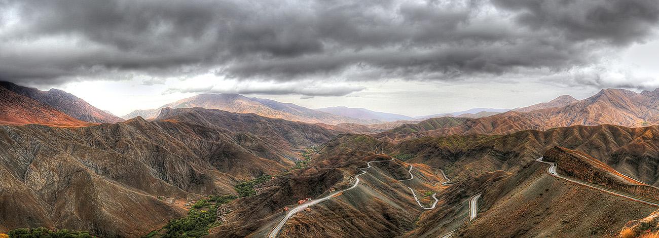 atlas mountain morocco