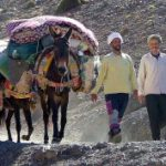 Big traverse of the High Atlas mountains from Mguon to Toubkal / trekking