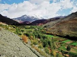 Big traverse of the High Atlas mountains from Mguon to Toubkal