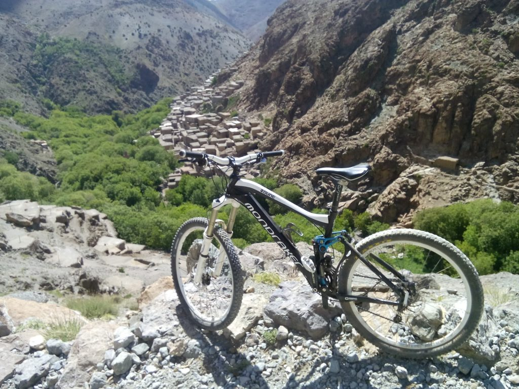 Biking in Ouirgane from Marrakech 1 Day