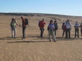 Desert Trek Morocco crossing East-West of dunes Chegaga
