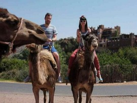 Asni Half Day Camel Ride & Hiking