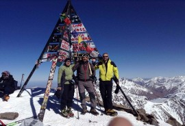 2 days Climb Mt toubkal in Winter atlas mountains