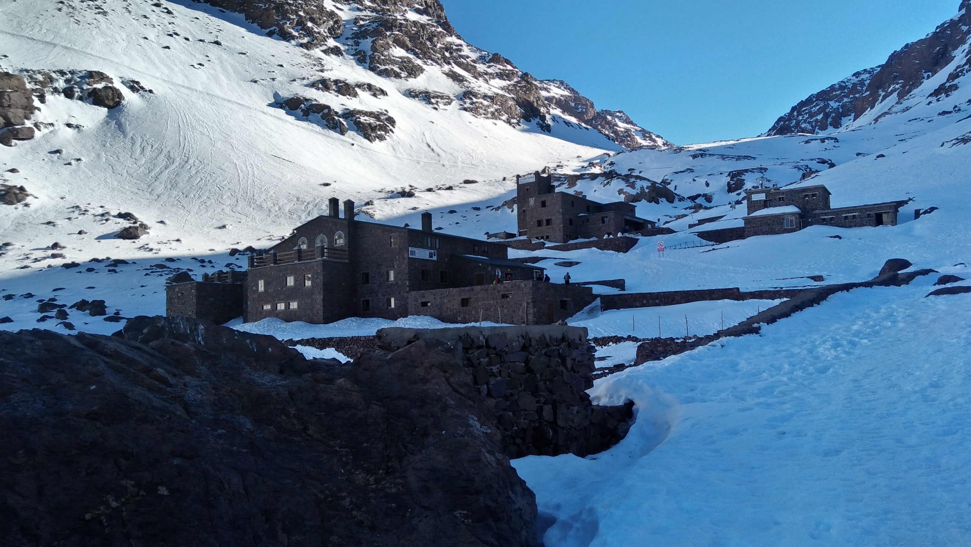Toubkal Refuge day trip