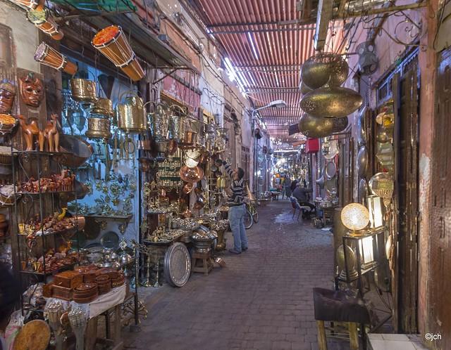 Excursión a la ciudad de Marrakech en bicicleta