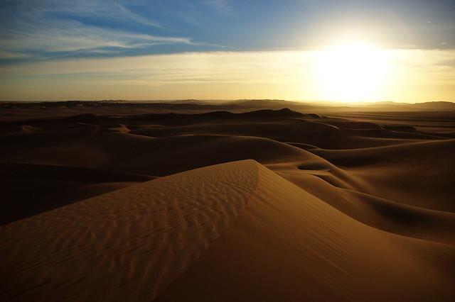 6 días de caminata entre las dunas de Chegaga
