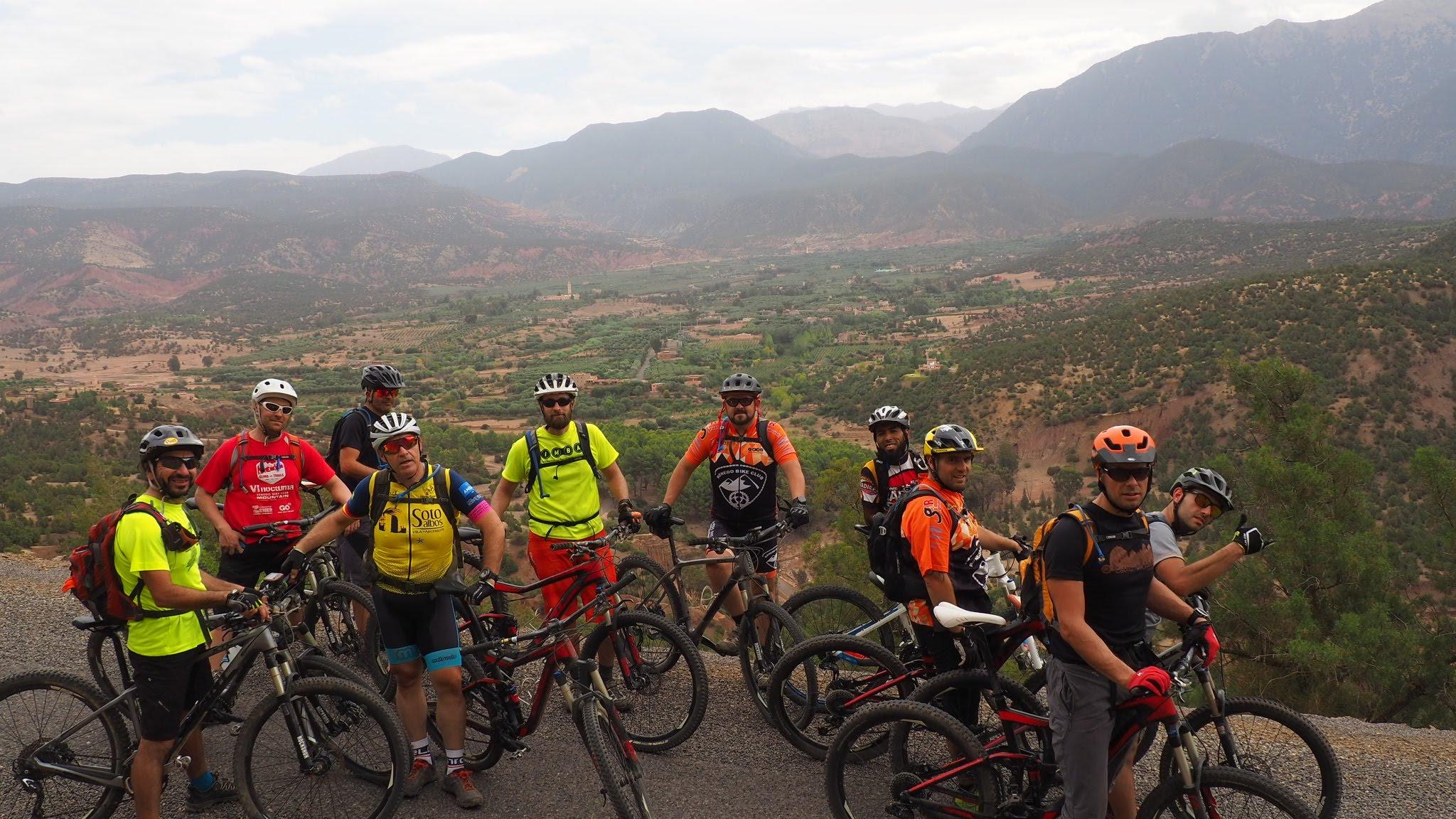 9 Dias Btt Por El  Atlas y el desierto  Marruecos
