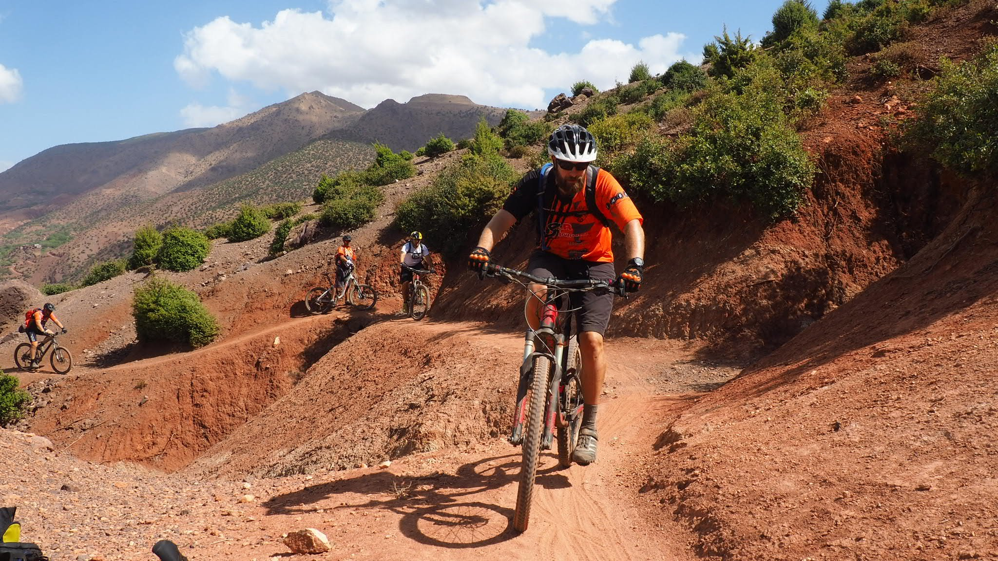 Singletrack Mtb In High Atlas Mountains