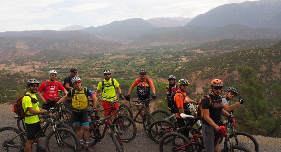 6 Day Luxury Mountain Biking Tour in the Atlas Mountains from Marrakech