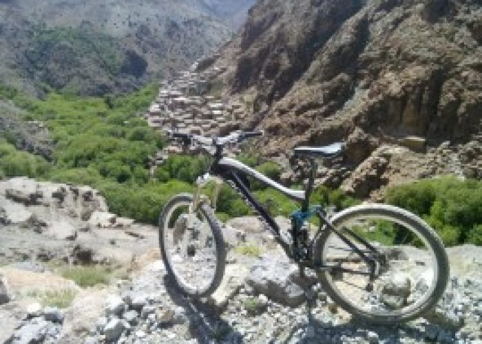 Biking Day trip in Ouirgane from Marrakech